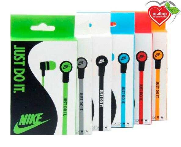 Вакуумные наушники Nike 18 наушники