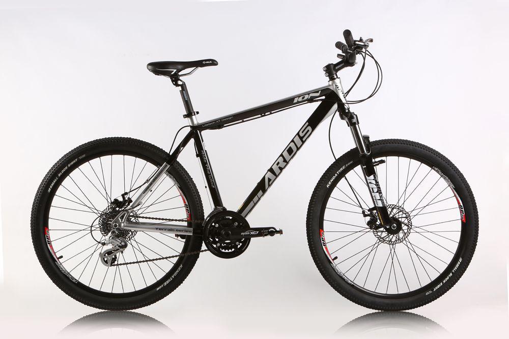"""Горный велосипед ARDIS ION MTB 26"""" 17""""  Серый/Черный"""