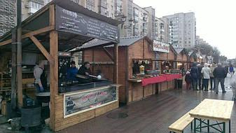Деревянные торговые киоски выглядят очень привлекательно, занимают мало места а цена на деревянные киоски доступна для всех заказчиков.