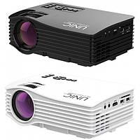 LED проектор UC36 Портативный мини светодиодный проектор дополнительно WI-FI Беспроводной Miracast DLNA A