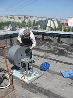Ремонт пылевых вентиляторов. Киев