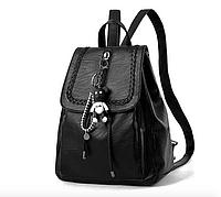 Рюкзак женский кожзам городской Kety Черный, фото 1
