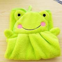 Полотенце детское для рукЛягушка