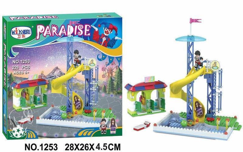 Конструктор Bela Paradise (228 деталей) 1253