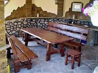 Мебель для ресторанов, кафе и баров из дерева под заказ в Киеве, фото 1