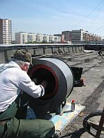 Капремонт вентиляторов дымоудаления. Киев