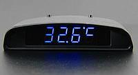 Автомобильные часы + температура + напряжение