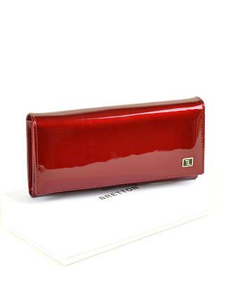 Кошелек Gold кожа BRETTON W0807 red, фото 2