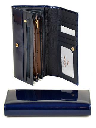 Кошелек Gold кожа BRETTON W0807 dark-blue, фото 2