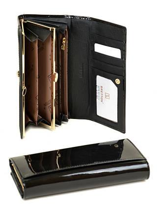 Кошелек Gold кожа BRETTON W1-V black, фото 2