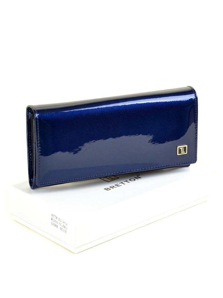 Кошелек Gold кожа BRETTON W501 dark-blue
