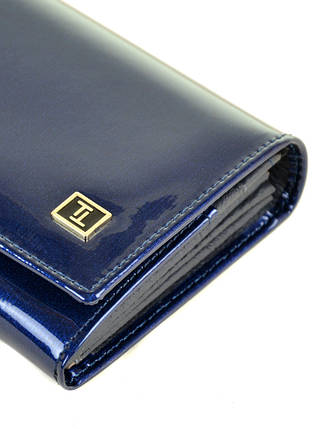 Кошелек Gold кожа BRETTON W501 dark-blue, фото 2