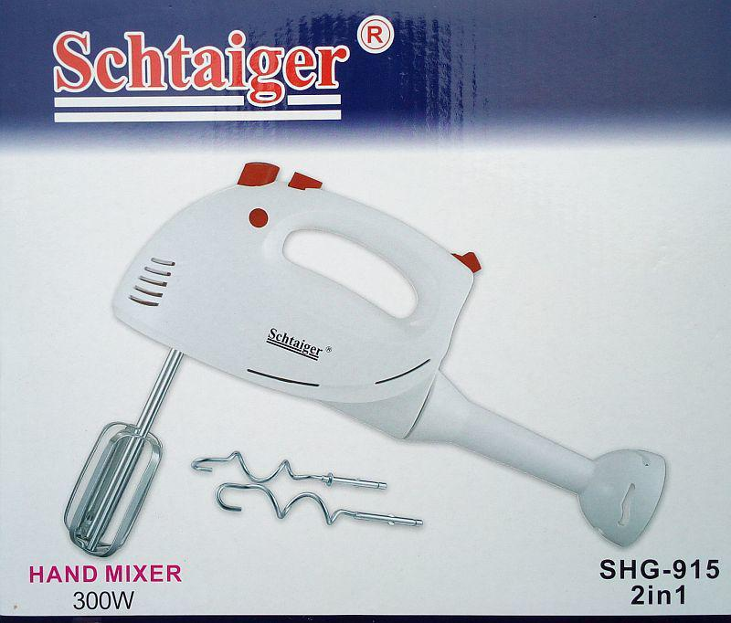 Міксер блендер 2 в 1 Schtaiger Shg-915