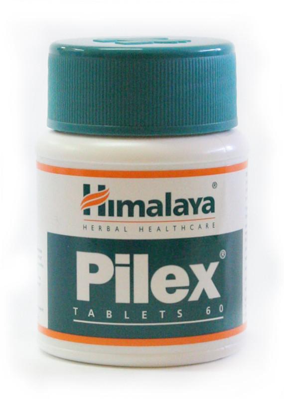Пилекс. Пайлекс. Pilex. 60 табл. Варикозное расширение вен. Тромбофлебит. Геморрой. Проктит