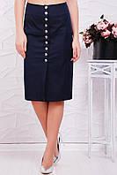 Женская юбка-карандаш с пуговицами спереди 47JU42