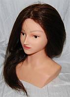 Голова-манекен с плечами и натуральными термостойкими волосами YRE-4-PN-ZG YRE
