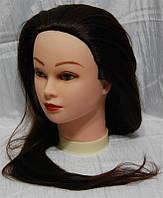 Голова учебная (искусственные термо. волосы) HT4-BROWN YRE-80-HT4 YRE