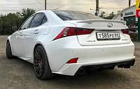 Лип спойлер Багажника Lexus IS 2013+