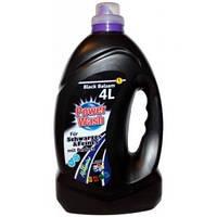Гель для стирки черных вещей Power Wash Professional Gel Black 4л.