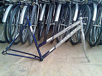Рама велосипедная, вилка велосипедная