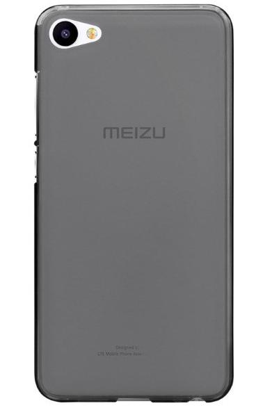 Чехол бампер для Meizu U20 серый