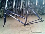Рама велосипедная, вилка велосипедная, фото 3