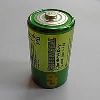 Батарейка GP Greencell R20 (тип D) солевая 1.5V