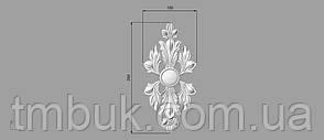 Вертикальный резной декор 26 - 120х250 мм, фото 2