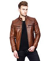 Куртка 2368 POMPEI 019, Цвет Коричневый, Размер 4XL