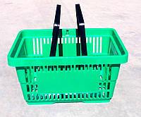 Корзина покупательская пластиковая 22 л., фото 1