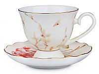 Чайный набор Lefard Нежная роза 200 мл 2 предмета, 264-431