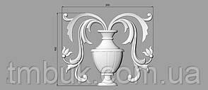 Вертикальный резной декор 31 Ваза - 200х160 мм, фото 2