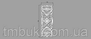 Вертикальный резной декор 34 - 120х330 мм, фото 2