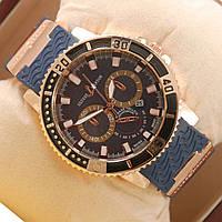 Часы Ulysse Nardin Chronometr Date Gold Blue кварцевые