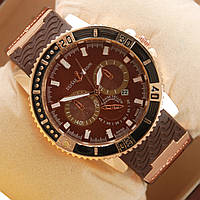 Часы Ulysse Nardin Chronometr Date Gold Brown кварцевые
