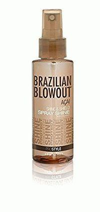 Спрей-блеск Brazilian Blowout Shine Spray Solution защитный, 100 мл