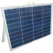 Солнечная электростанция раскладная переносная 60Вт 12-220Вольт(70Вт), фото 1
