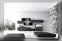Стенки для гостиных в Киеве на заказ, мебель для гостиной в стиле модерн недорого, Киев