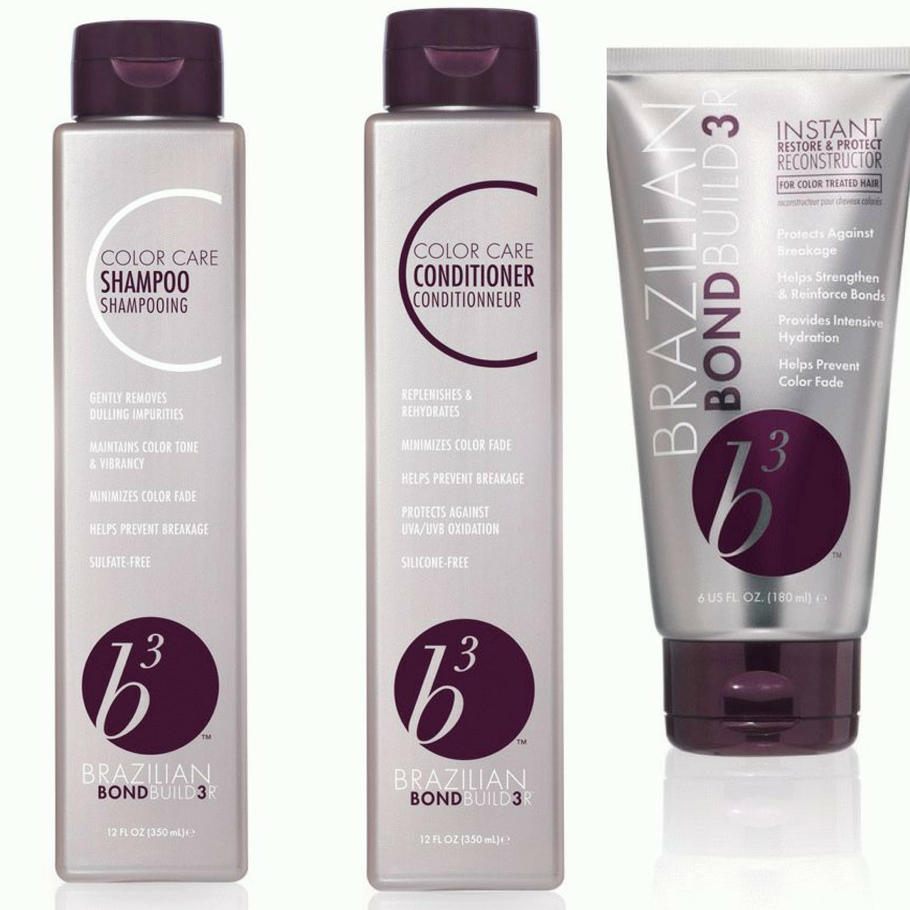 Набор для сохранения цвета волос B3 COLOR (шампунь+кондиционер+Maска)