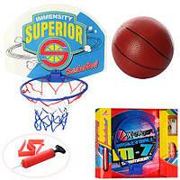 Баскетбольное кольцо M 3320, диам.23см, щит40-30, 5см, мяч9см, насос, 2 вида, в кор, 40, 5-32, 5-4, 5см