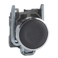 XB4BA21 Кнопка 22мм чорна з поверненням 1НО Schneider Electric