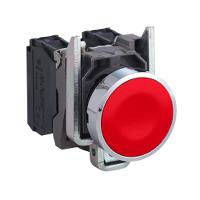 XB4BA42 Кнопка 22мм червона з поверненням 1НЗ Schneider Electric