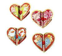 Валентинка сердце 9*9см 3-е 20-16-01 /180
