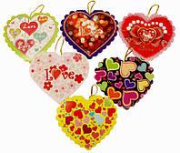 Валентинка в виде сердечка