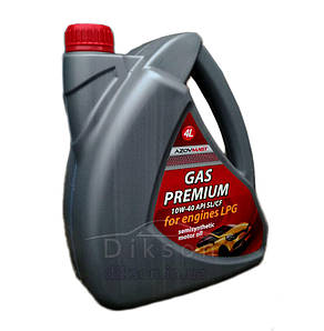 Масло AZOVMAST 10w-40 GAS Premium 4л