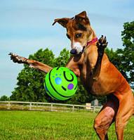 Игрушка для собак мяч хихикающий WOBBLE WAG GIGGLE, фото 1