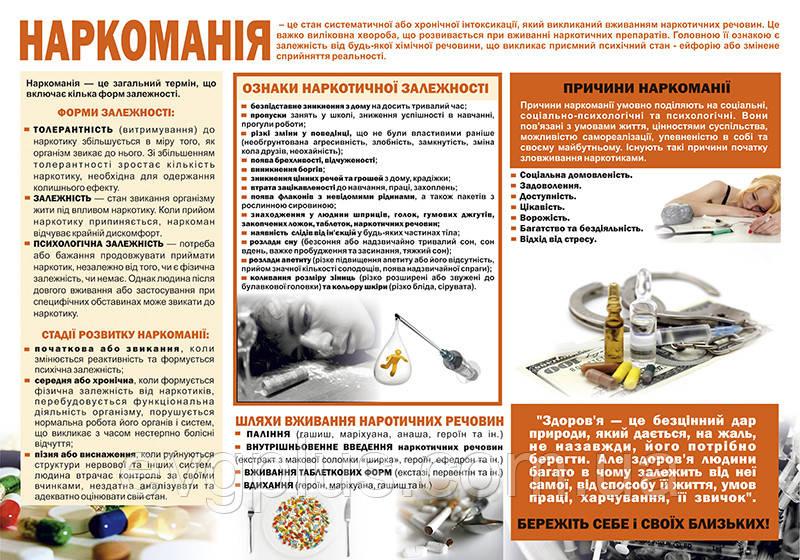 """Санбюллетень """"Наркоманія"""", цена 100 грн., купить в Кропивницком — Prom.ua (ID#635820365)"""
