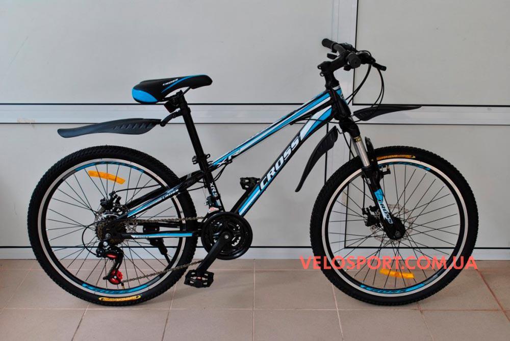 Горный велосипед Cross Racer 26 дюймов - Интернет магазин velosport.com.ua продажа велосипедов и аксессуаров в Одессе