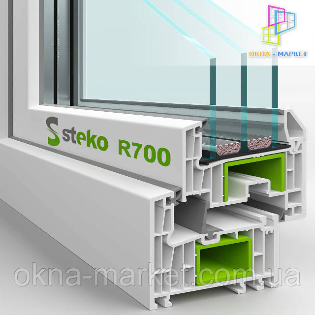Пластиковые окна Steko R700
