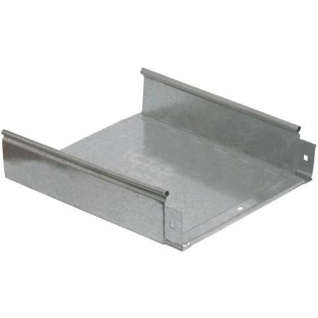 Лоток неперфорированный 100x400x3000; 1,2 мм